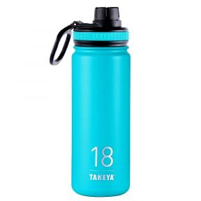 Takeya insulated bottle for hiking and trekking